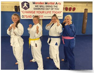 Marsden Martial Arts Kickboxing For Women in Chesterfield