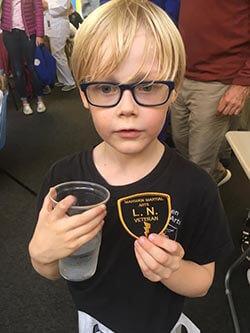 Lil Ninjas Veteran Badge
