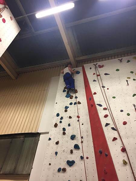 Rock Climbing With Marsden Martial Arts